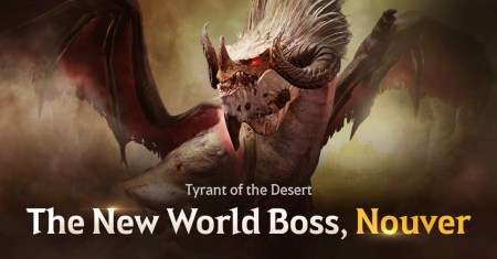 ¡El nuevo jefe de mundo, Nouver, se lanza en Black Desert Mobile!