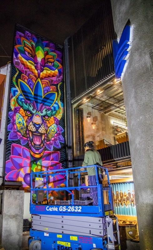 adidas México develó nuevo mural, en colaboración con el artista Farid Rueda - adidas-originals-flagship-store-mexico_farid-rueda