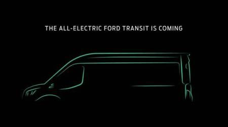 Ford Transit, la camioneta de carga más vendida se electrifica para el 2020