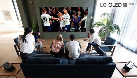 LG graba el partido del Tottenham Hotspur en 8K, donde se exhibirá en televisores OLED 8K y Nanocell 8K - lg-y-tottenham-hotspur-8k