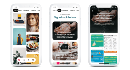 """Pinterest lanza la pestaña """"Hoy"""" una nueva fuente de inspiración diaria"""