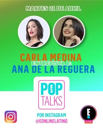 Ana de la Reguera en E! POP TALKS