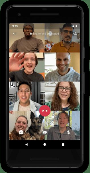 WhatsApp: las llamadas grupales de video y voz ahora admitirán hasta 8 participantes - llamadas-grupales-whatsapp