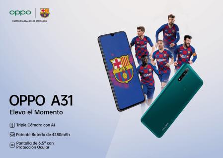 OPPO A31 llega a México ¡conoce sus características y precio!