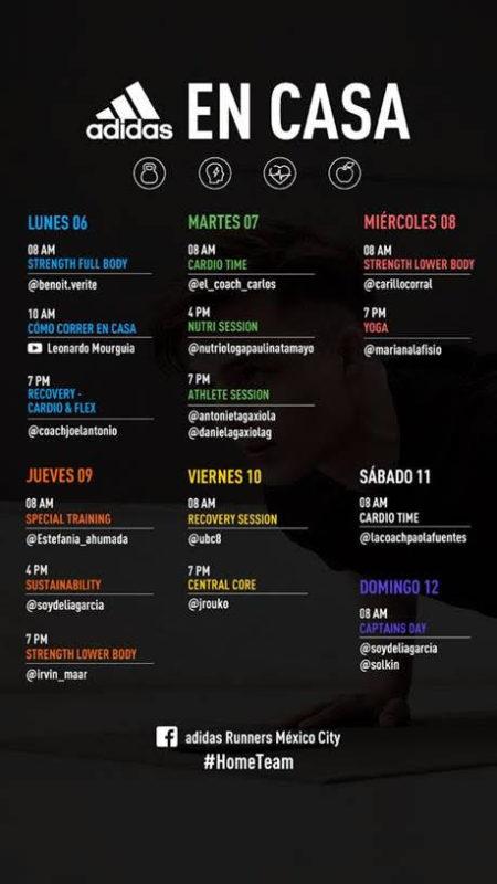 Calendario de entrenamientos de la tercera semana de adidas Runners - rutina-de-ejercicios-450x800