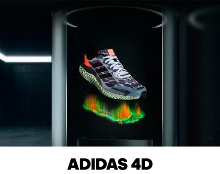 Adidas 4D, diseñada para revolucionar el running