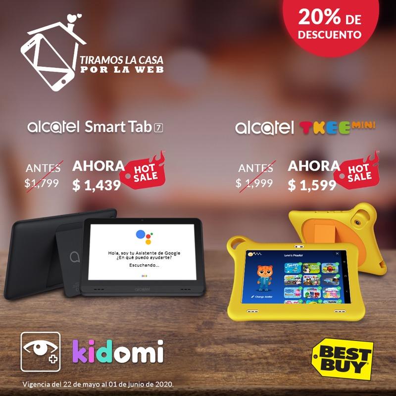 Conoce los descuentos de Alcatel para el Hot Sale 2020 - alcatel-hot-sale-best-buy