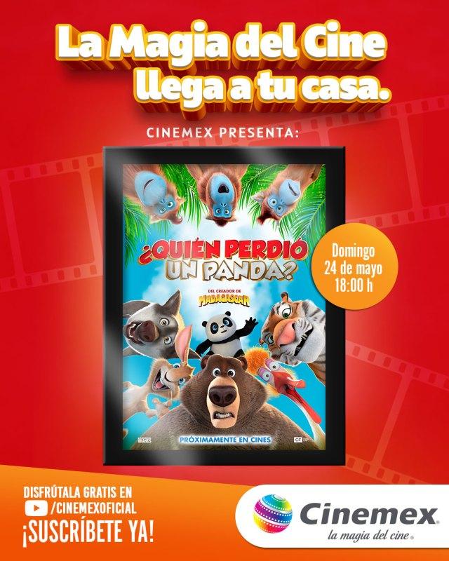 Cinemex presenta función digital para disfrutar la magia del cine en casa - cinemex-funcion-digital-640x800