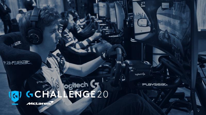 Logitech G y McLaren anuncian Logitech McLaren G Challenge 2020 - gchallenge002