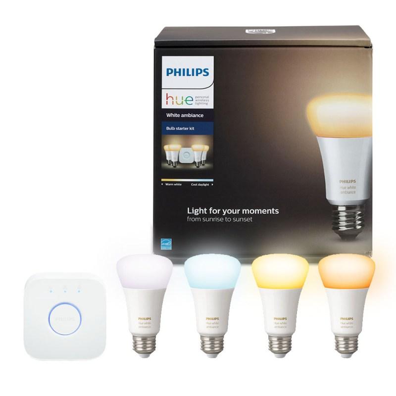 Signify en el Hot Sale 2020 con descuentos en su línea Philips Hue - kit-de-inicio-e26-white