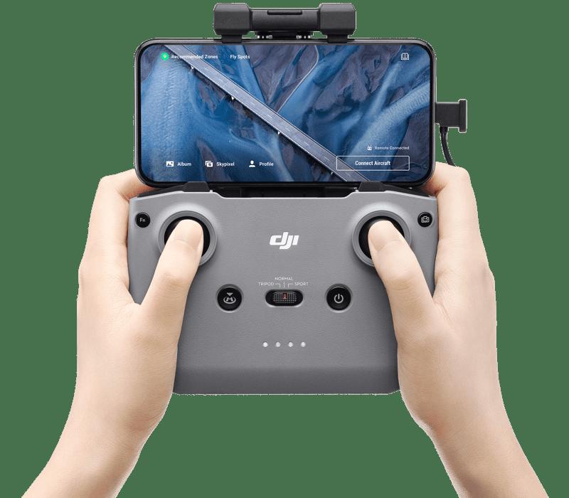 Mavic Air 2, nuevo dron de DJI que llevará tu creatividad al siguiente nivel - mavic-air-2-control-800x700