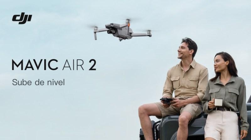 Mavic Air 2, nuevo dron de DJI que llevará tu creatividad al siguiente nivel - mavic-air-2-800x446
