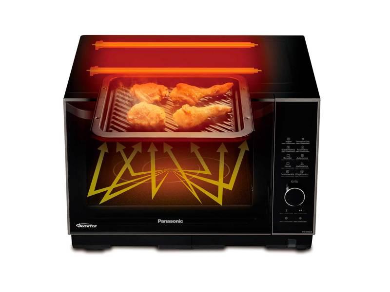 Lo último en tecnología para el hogar que te facilitará la vida - microondas-panasonic-800x600
