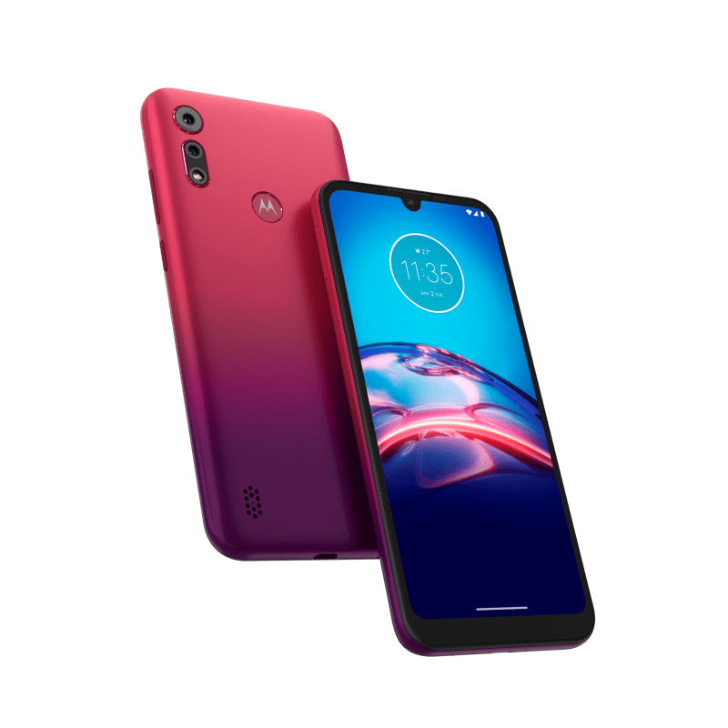 moto e6s y moto g8 power ¡disponibles en Telcel! - moto-e6-s_sunrisered