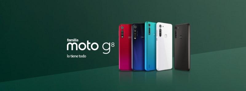 Motorola con grandes ofertas en el Hot Sale 2020 - moto-g8