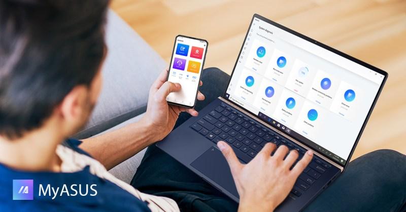MyASUS: app que facilita los ajustes técnicos de tu laptop de una manera sencilla y rápida - myasus-800x419