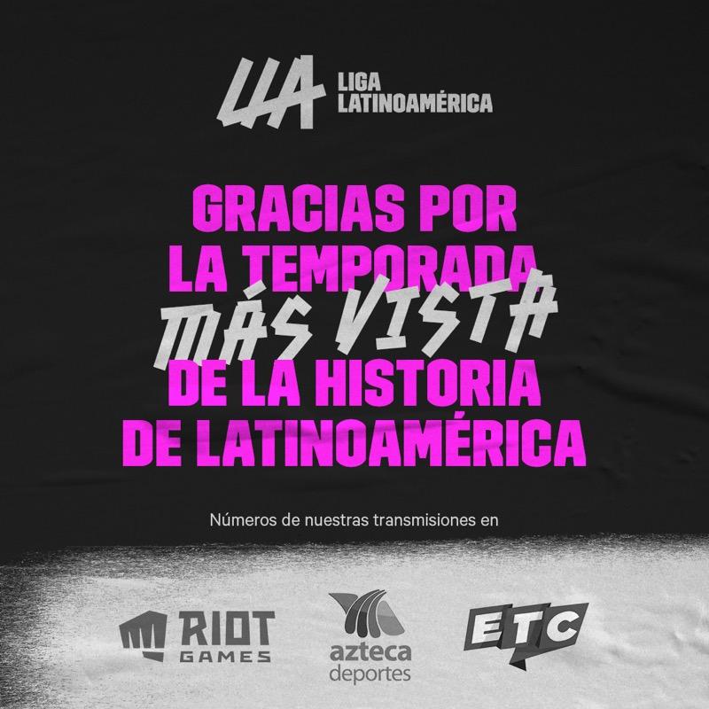 La Liga Latinoamericana de League of Legends rompe récords de visualizaciones - numeros-lla-social-1