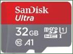 Western Digital y SanDisk se unen a las ofertas durante el Hot Sale - sandisk-microsd-ultra-32gb-c-10c-adaptador