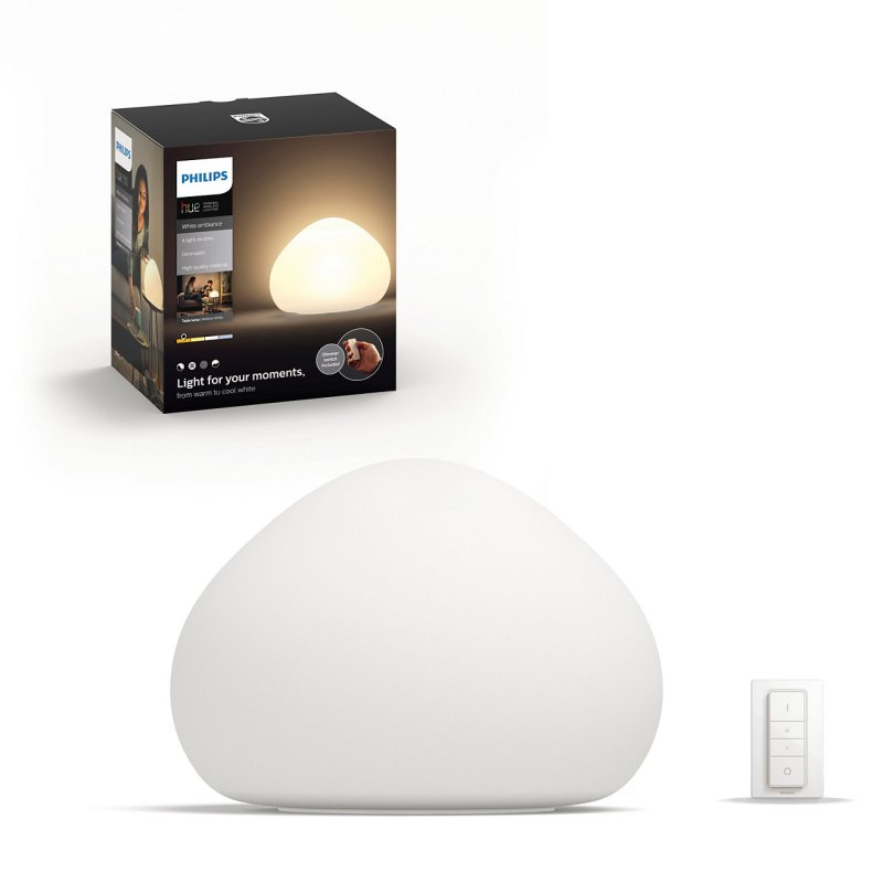 Signify en el Hot Sale 2020 con descuentos en su línea Philips Hue - signify-lampara-de-mesa-wellner