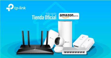 TP-Link anuncia su nueva tienda en línea en Amazon