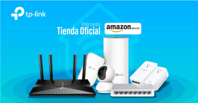 TP-Link anuncia su nueva tienda en línea en Amazon - tienda-en-linea-tp-link-800x419