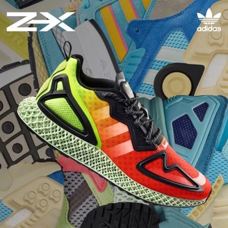 adidas Originals presenta ZX 4D ¡disponible en México el 25 de junio!