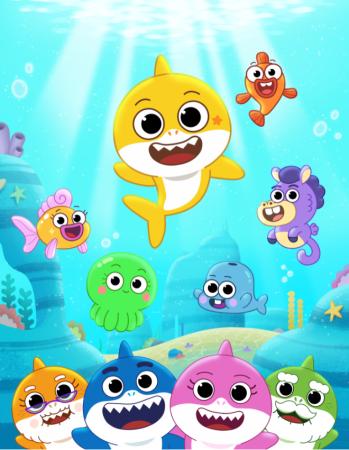 ¡Baby Shark el Gran Show!, serie animada totalmente nueva para preescolares