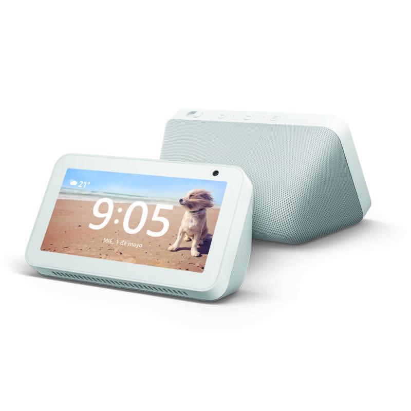 Consigue el gadget ideal para papá que lo ayudará en sus actividades diarias - echo-show-5_amazon
