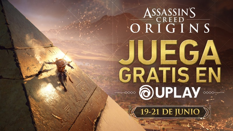 Juega gratis Assassin's Creed Origins este fin de semana en Uplay - fin-de-semana-gratuito-ac-origins
