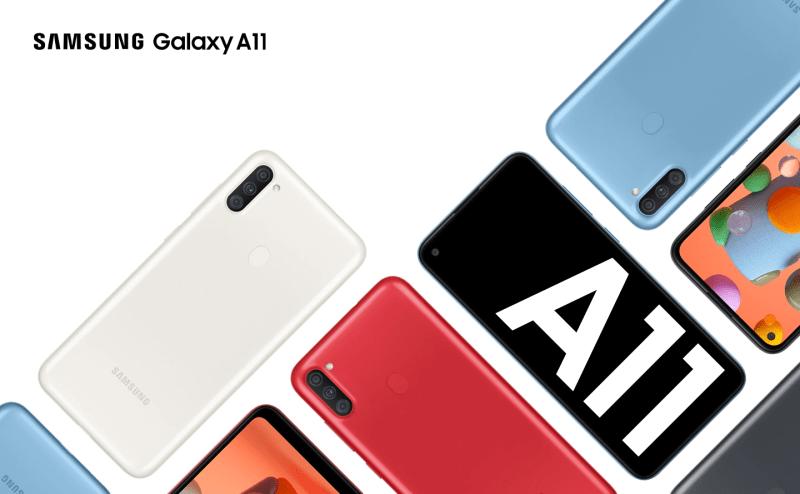 Galaxy A31, A21s y A11 llegan a México ¡conoce sus características y precio! - galaxy-a11-smartphone-800x494