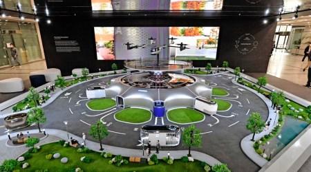 Hyundai presenta en miniatura un Ecosistema de movilidad inteligente