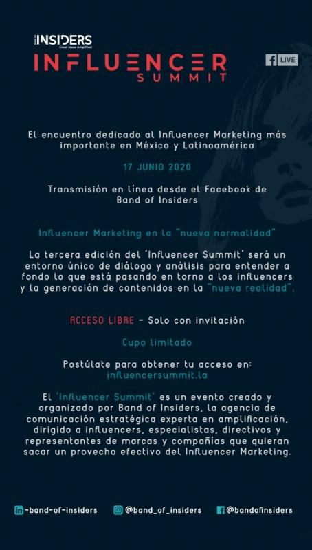 """""""Influencer Summit"""" tendencias de la industria del Influencer Marketing para la """"nueva normalidad"""" - influencer-summit"""