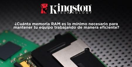¿Cuánta memoria RAM es la necesaria para mantener tu equipo trabajando de manera eficiente?