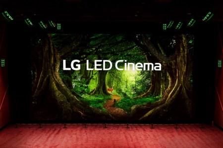 LG presenta la primer pantalla de cine LG LED Cinema Display y envolvente audio de Dolby Atmos