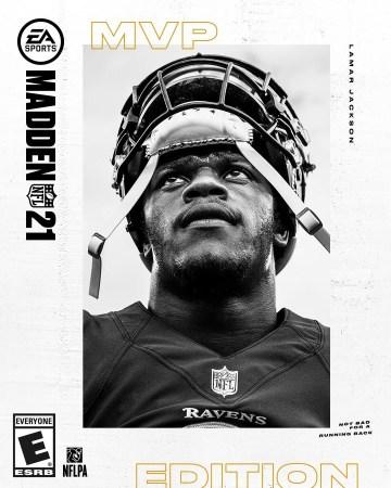 Lamar Jackson, como la nueva portada para las ediciones de EA SPORTS Madden NFL 21
