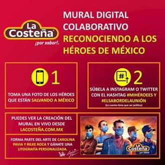 Se parte del Mural Digital Colaborativo para reconoce a los héroes de México - mural-digital-colaborativo