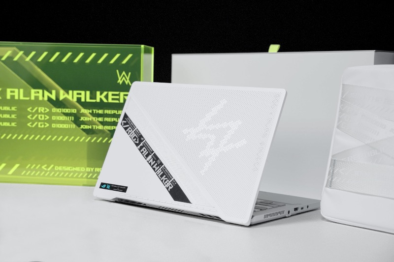 ASUS Republic Of Gamers anuncia colaboración con DJ Alan Walker - rog_zephyrus_g14__dsc0386-800x533