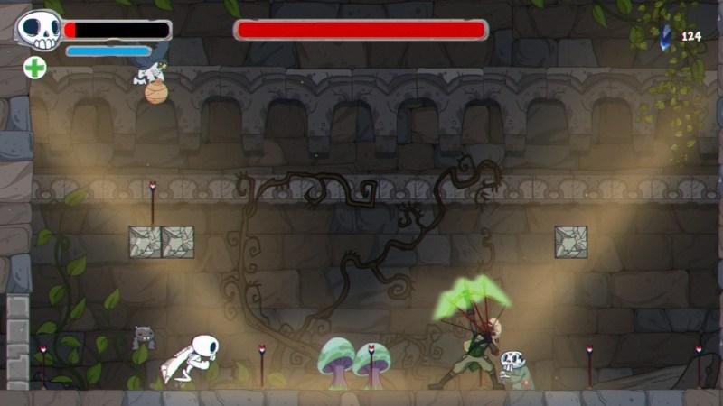 Konami y Ukuza lanzan Skelattack ¡disponible para Xbox, PS4, Nintendo Switch y Steam! - skelattack-4