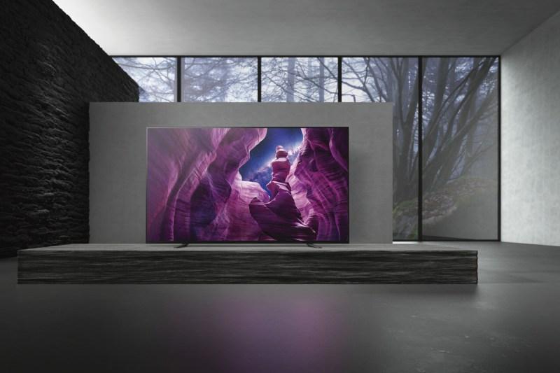 Sony presenta nueva línea de pantallas 8K LED, 4K OLED, y 4K LED - sony_oled_a8h_7-800x533