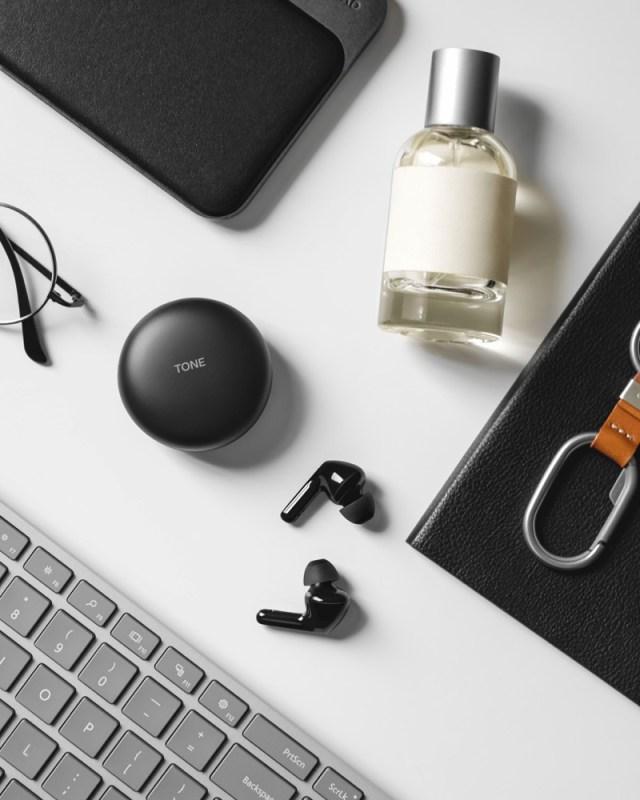 Nuevos LG TONE Free con MERIDIAN Audio y exclusiva función que los desinfecta mientras se cargan - earbuds-lg-tone-free