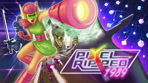 La Actualización Gratuita The Ultimate Challenge llega hoy a Pixel Ripped 1995! - el-origen-de-la-saga-pixel-ripped-1989