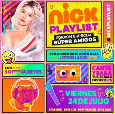 Especial musical Nick Playlist: Edición Especial Súper Amigos en Nickelodeon