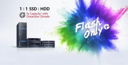 Huawei lanza Programa Flash Only+ para acelerar todas las industrias