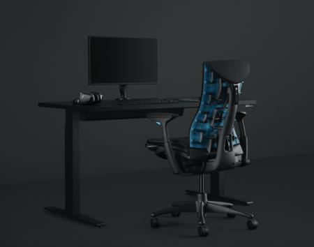Embody, primera silla ergonómica gamer de Herman Miller y Logitech