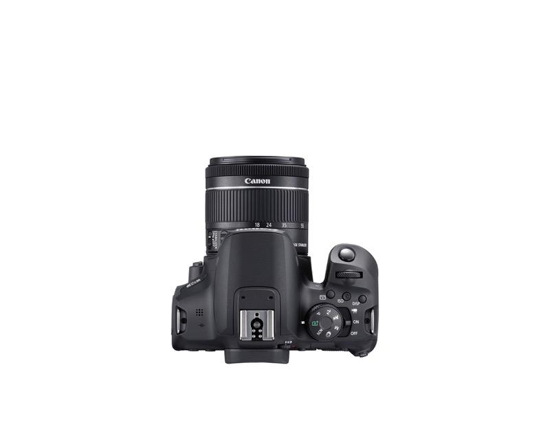 EOS Rebel T8i de Canon, la primera cámara EOS réflex con grabación de video vertical - hr_eost8i_top_efs18_55mm-800x640