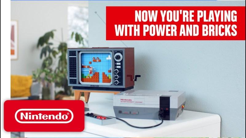 El Grupo LEGO presenta la edición LEGO del clásico Nintendo Entertainment System - lego-nintendo-entertainment-system-now-you-are-playing-with-power-and-bricks-800x450