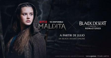 Black Desert incluirá contenido de la serie de Netflix «Maldita»