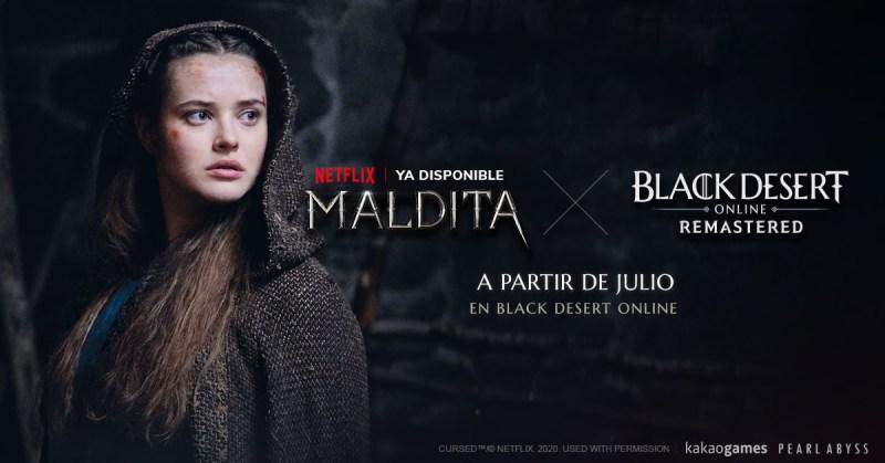 """Black Desert incluirá contenido de la serie de Netflix """"Maldita"""" - maldita-videojuego-black-desert"""