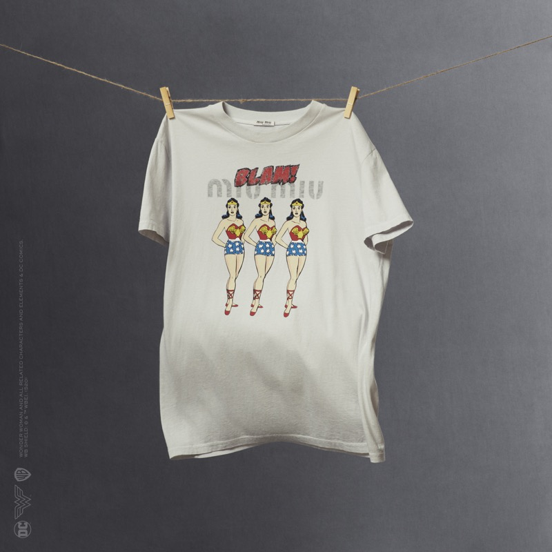 Miu Miu Wonder Woman: colección cápsula de playeras - miumiu_wonder-woman-tshirts-capsule-collection_05