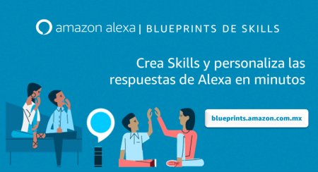 Ahora podrás crear Skills en Alexa en sólo unos minutos